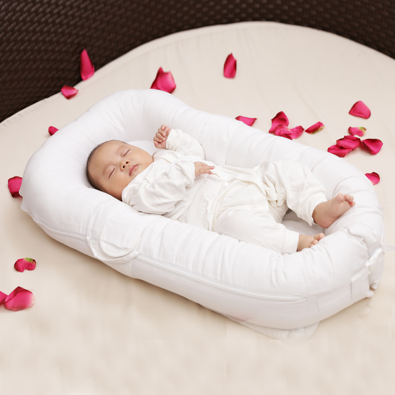 2018 Rushed Promotion Baby Bag Bed Fashion Portable Baby Bed Newborn Biomimicry Multifunctional Bb Emperorship Solidder 90*50cm cute portable baby nest bed crib newborn biomimicry multifunctional emperorship solidder nursery travel bed with bumper mattress