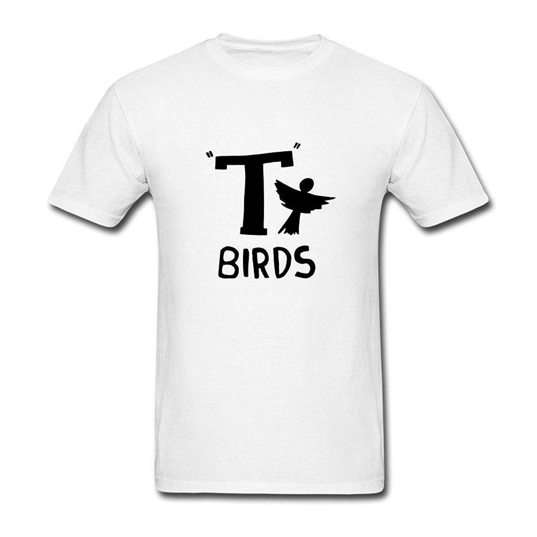 Gildan Men S Grease T Birds Logo T Shirt S