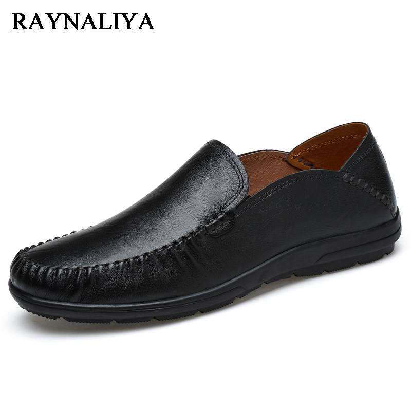 New Summer Breathable Men Genuine Leather Casual Shoes Slip On Fashion Handmade Shoes Man Soft Comfortable Flats LB-B0009 bole new handmade genuine leather men shoes designer slip on fashion men driving loafers men flats casual shoes large size 37 47