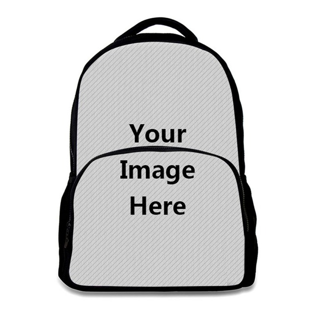 customize your own backpack felt material boys girls school