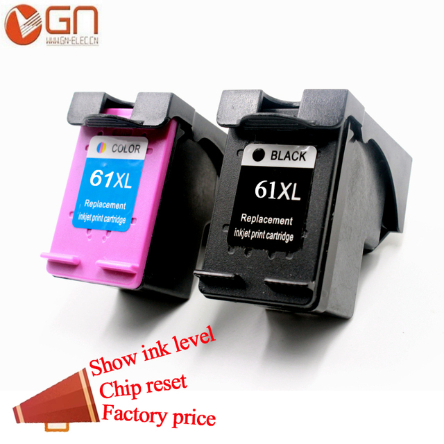 Gn 61xl For Hp 61xl 61xl Ink Cartridges For Hp Officejet 2620 2621