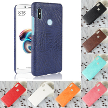 For Xiaomi Redmi Note 5 Note5 Luxury Crocodile PU Leather Skin Hard PC Back Cover protective Case For Xiaomi Redmi Note 5 Pro цена