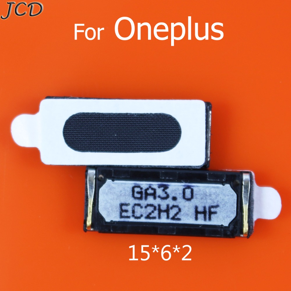 JCD 2pcs/lot New Top Earpiece Ear Speaker For Oneplus 2 3 3T Replacement Parts Receiver Earphones For OnePlus 2 A2001 A2005 A200