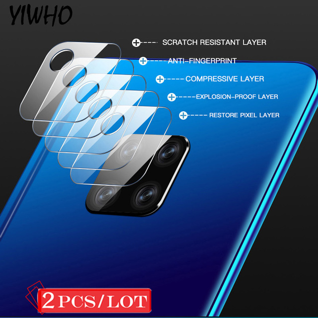 9H Tempered Glass for huawei P30 P20 Lite Mate 20 Pro Camera Lens Glass Protector for HUAWEI P30 Mate 20 Back Cover Protective