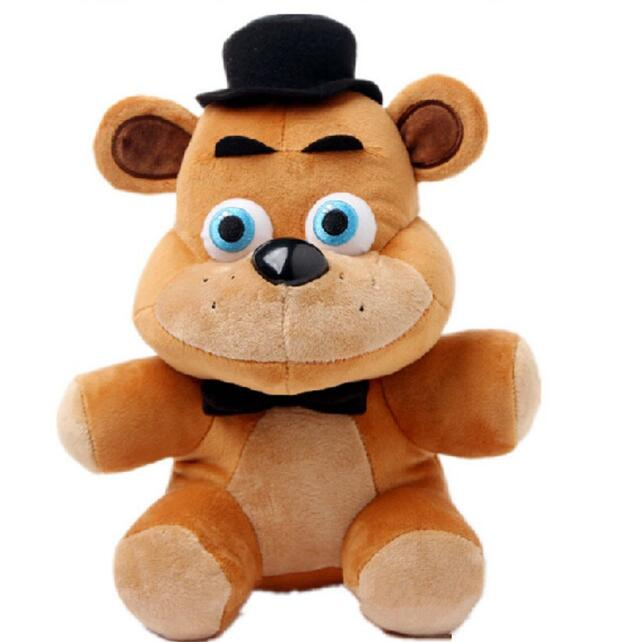 Hot Freddy Plush Five Nights At Freddy's 4 FNAF Freddy Fazbear Bear Dolls Plush