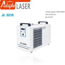 JL-5200 Industry Air Water Chiller for CO2 Laser Engraving Cutting Machine Cooling 150W Laser Tube cw3000 industrial chiller for water cooling 60 80 100w co2 cnc laser tube 220v 50hz zurong