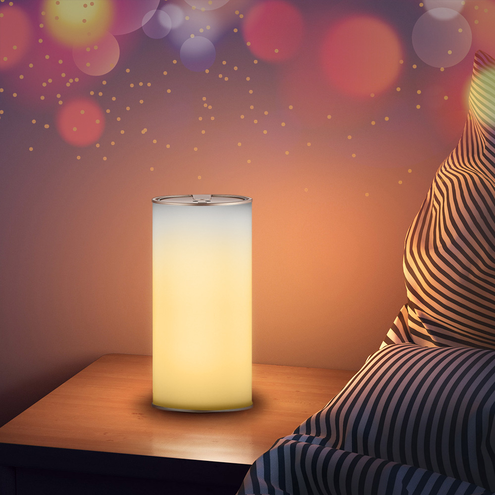 Lightme YL304B 3D Lightning Indoor Decorate Holiday Night Sense Light Gesture Control Rechargeable Night Light Z30 n light lightning 90327 16ca