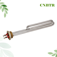 Electrical Element Booster Stainless Steel Heating Tube For Water Heater 2000W