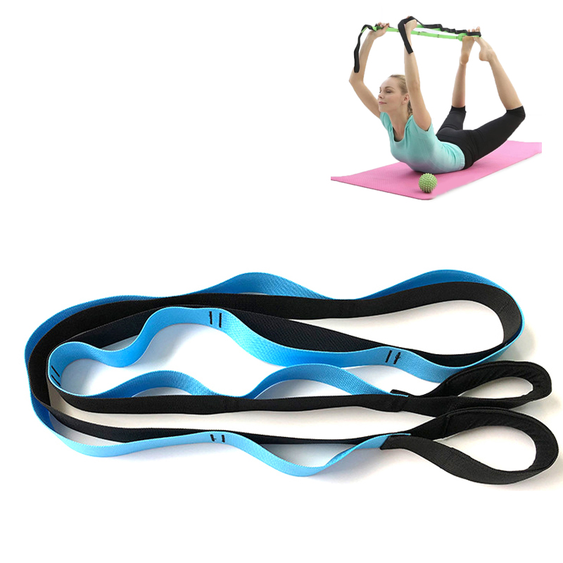 Yoga Stretch Assist Strap Leg Foot Physical Therapy Exercise Resistance Band