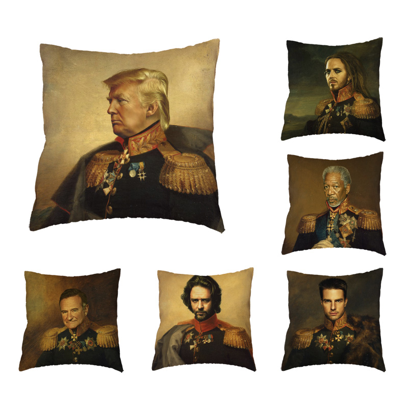 Big Discount Cushion Cover Famous Man Pillow Cover