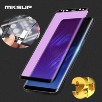 MKSUP 30pcs 3D Full Cover Impact Resistance Soft Screen Protector For Samsung Galaxy S8 S8 Plus