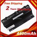 4400mAh 14.8V Laptop Battery for Asus G75 G75VW G75V3D G75V G75VX G75VM3D G75VM G753D G75VW3D 8 cells