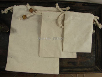 (100pcs/lot)High quality jute/linen/flax drawstring jewerly bag for cosmetic/headset Size be customized,many colors,wholesale