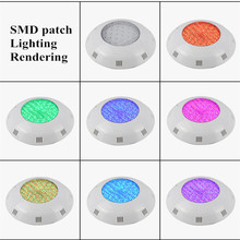 Rgb LED Pool Light Colorful Remote Control ABS Wall Hanging Underwater Light 12W 18W 25W 35W 12V Swimming Pool Fountain Light small power 25w 351pcs rgb par56 led swimming pool light smd 12v led underwater light with remote control free shipping