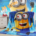 Children Cartoon pattern Coral fleece blankets can be as bedclothes the throws,size 150*200CM Home textiles