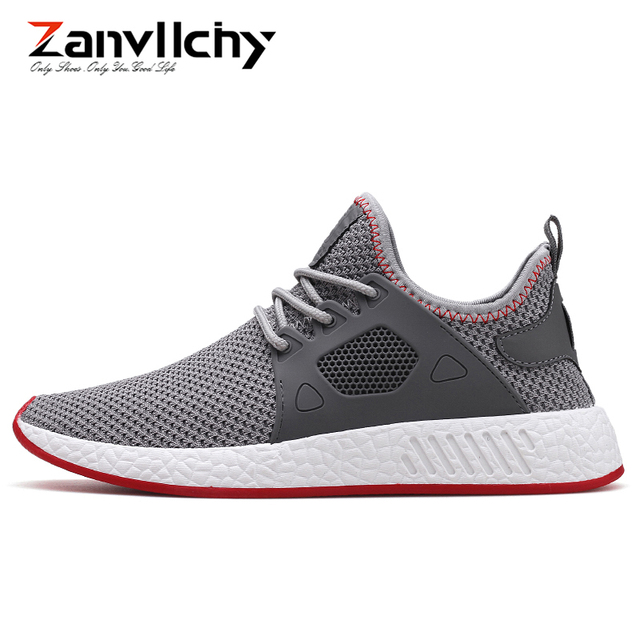 Zanvllchy 2018 Summer Men Casual Shoes Breathable Chaussure Homme Zapatillas Mens Tenis Trainers Ultra Boost Shoes Male Sneakers
