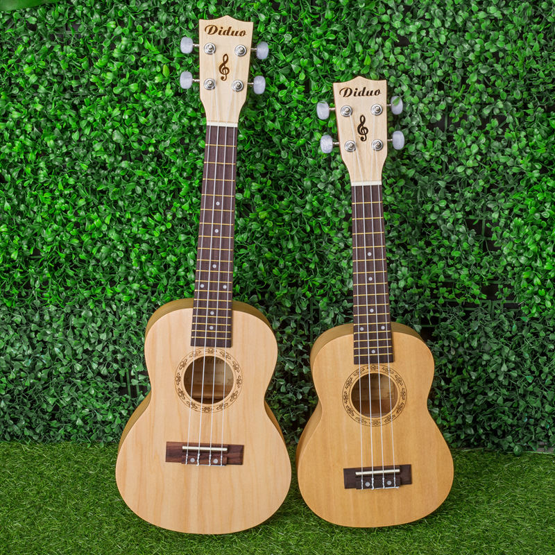 Concert Tenor 23 26 Inch Hawaiian Guitar 4 Strings Ukulele Ukelele Guitarra Handcraft Wood White Basswood Uke  White Musical concert acacia wood ukulele 23 inch mini hawaiian guitar 4 strings guitarra ukelele high grade lumber uke handcraft wood