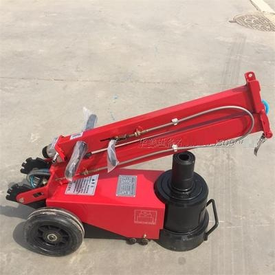 80ton Folded Pneumatic Floor Hydraulic Jack For Truck Auto