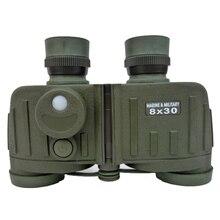 Buy online 8X30 all-optical waterproof army binoculars telescope with compass & rangefinder meet US military standard