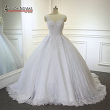 Amanda Chen 2019 Sweetheart Heavily Beaded Wedding Dress