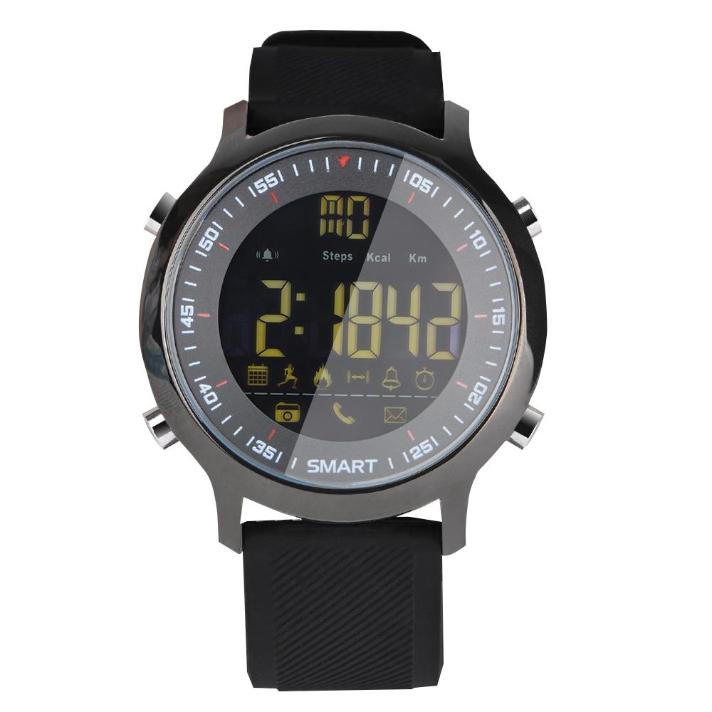 Galleria fotografica Y6 Montre Smart Watch Étanche IP68 ou 5ATM Passometer Message Ultra-longue Attente En Plein Air Natation Sport <font><b>Smartwatch</b></font> pour ios Android