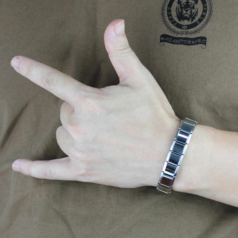 Hapiship 13 мм мужские модные ювелирные изделия из нержавеющей стали черный/синий/золотой/серебристый/цветной эластичный браслет для мальчиков подарок на день рождения ST13