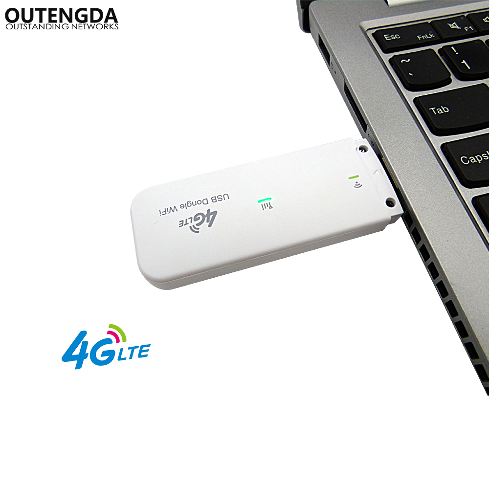 4G LTE Router Mobile USB WiFi Router Network Hotspot 3G 4G Wi-Fi Modem Router with SIM Card Slot