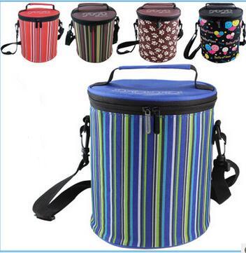 10 Pz Big Size Oxford Pranzo Al Sacco Isolato Impermeabile Pranzo Carry Bagagli Picnic Ice Cooler Bag Lunch Box Regali Del Partito Durevole In Uso