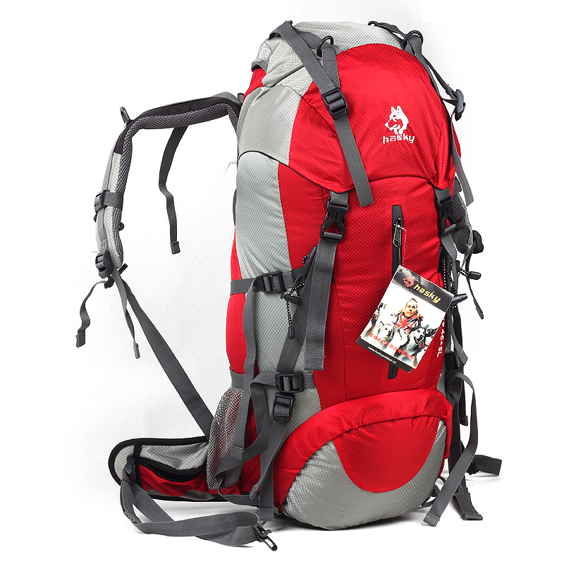 Sled dogs outdoor large capacity mountaineering bag hiking ...