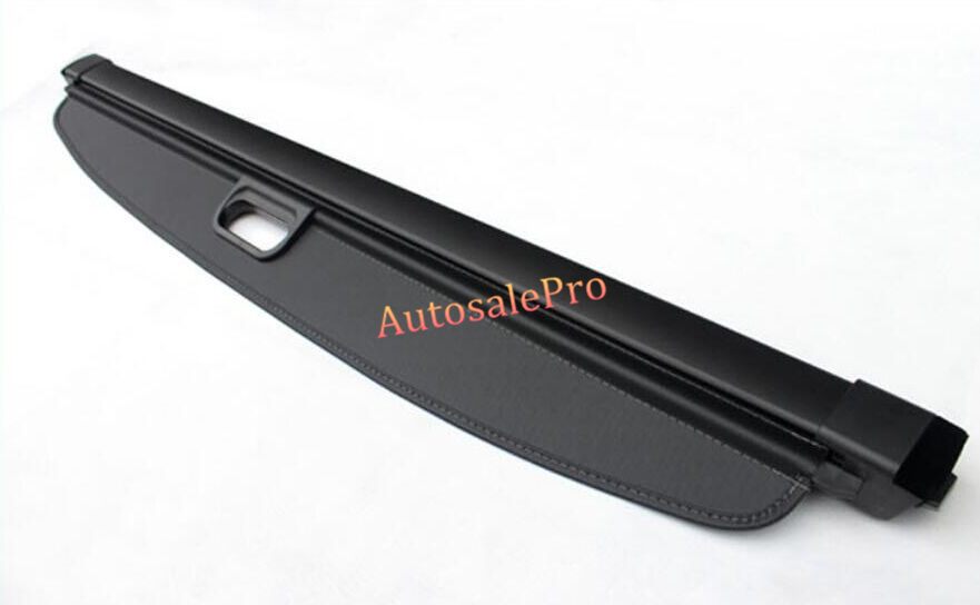 Aluminum For Mercedes-Benz GLK-Class X204 20082009 2010 2011 2012 2013 2014 2015 Black Rear Trunk Security Shade Cargo Cover car rear trunk security shield shade cargo cover for toyota highlander 2009 2010 2011 2012 2013 2014 2015 2016 2017 black beige