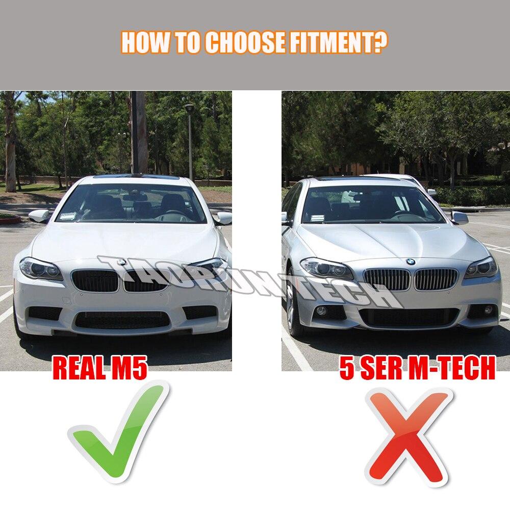 BMW F10 M5 Bumper 2010 - 2016 üçün F10 M5 RPK Style Karbon Fiber - Avtomobil ehtiyat hissələri - Fotoqrafiya 2