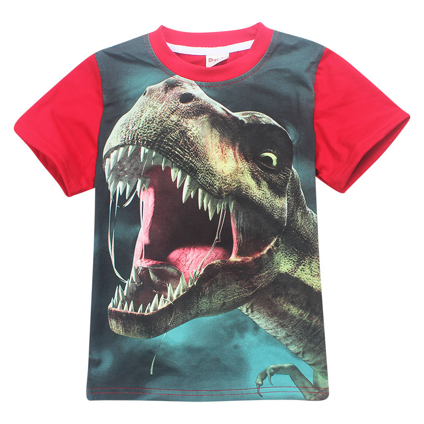 3-12-Years-Old-Jurassic-World-dinosaur-Children-Kids-Shorts-Tops-Tees-T-Shirt-Fille-Summer-Teenager-Boys-Girls-T-Shirt-For-boy-1