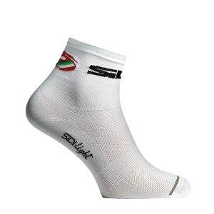 Image 5 - Nuovo 2 Stile Ciclismo Calzini e Calzettoni Uomo Donna Sport Allaria Aperta Nero Bianco Traspirante Bici Da Strada Calzini e Calzettoni