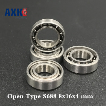 2019 Promotion Real Ball Bearing 50 Pcs Open Type S688 Bearings 8x16x4 Mm Ball