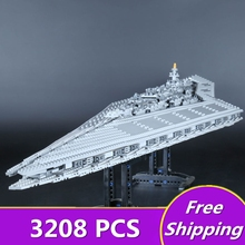 [ZXZ]IN STOCK LEPIN 05028 3208PCS Execytor Super Star Destroyer Model Building Wars Kit Block Brick Toy Gift Compatible 10221