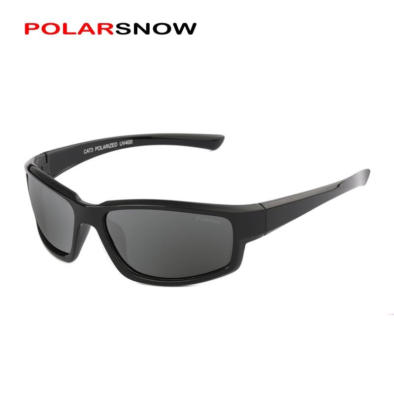 POLARSNOW Vintage Polarized Sport Sunglasses Men Brand 2017 New Outdoor Fishing Driving Sun Glasses Oculos De