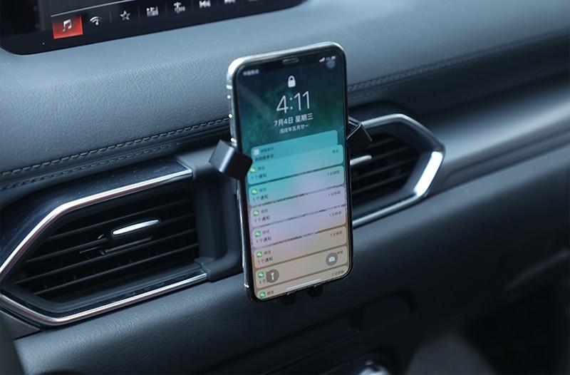For Mazda CX-5 CX5 2017 2018 Car Phone Holder Sucker Mount Bracket Stand 360 Degree Rotation