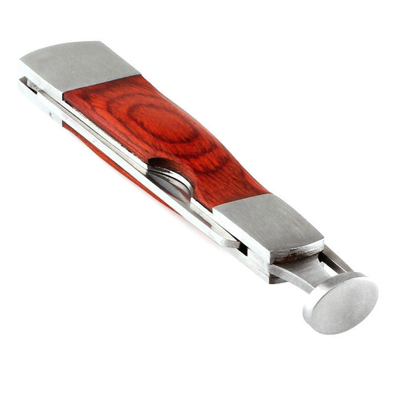 Multifunction Red Wood Smoking Pipe Cleaning Tool 3 in 1 1