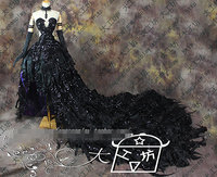 Puella Magi Мадока Magica Akemi Homura бунтарская история дьявол демон на заказ размеры Униформа косплэй костюм высоко редуктивный