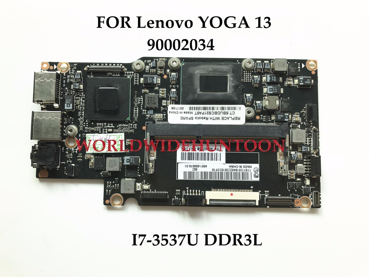 Ibm Thinkpad G40 Laptop Schematic Diagram High Quality Motherboard For Lenovo Yoga 13 I7 3537u Ddr3l Support Only Fru90002034 100 Fully Tested In Motherboards From Computer Office On