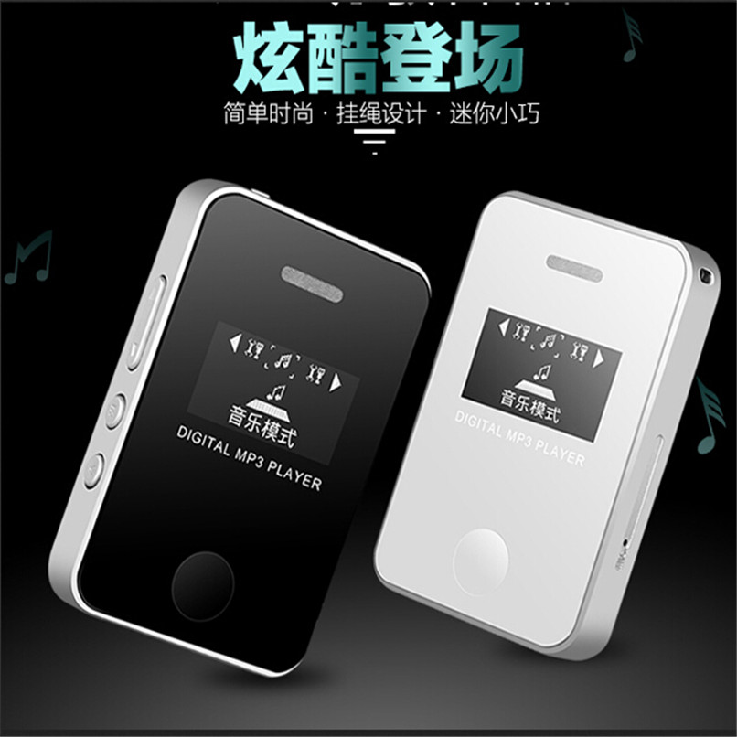 цена на Newest!!Mini USB MP3 Music Media Player LCD Screen Support 16GB Micro SD TF Card H1T07