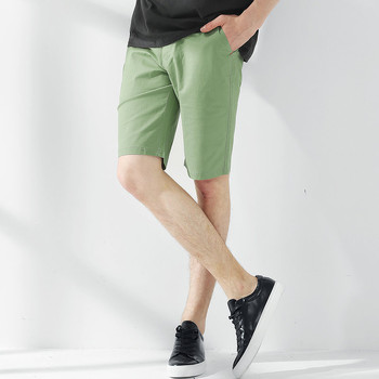 Pioneer Camp New summer shorts men brand clothing solid bermuda shorts male top quality stretch slim fit board shorts 655117 1