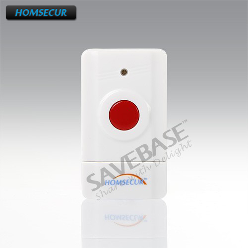 HOMSECUR 433MHz A5 Wireless Emergency Panic Button For Our font b Alarm b font System