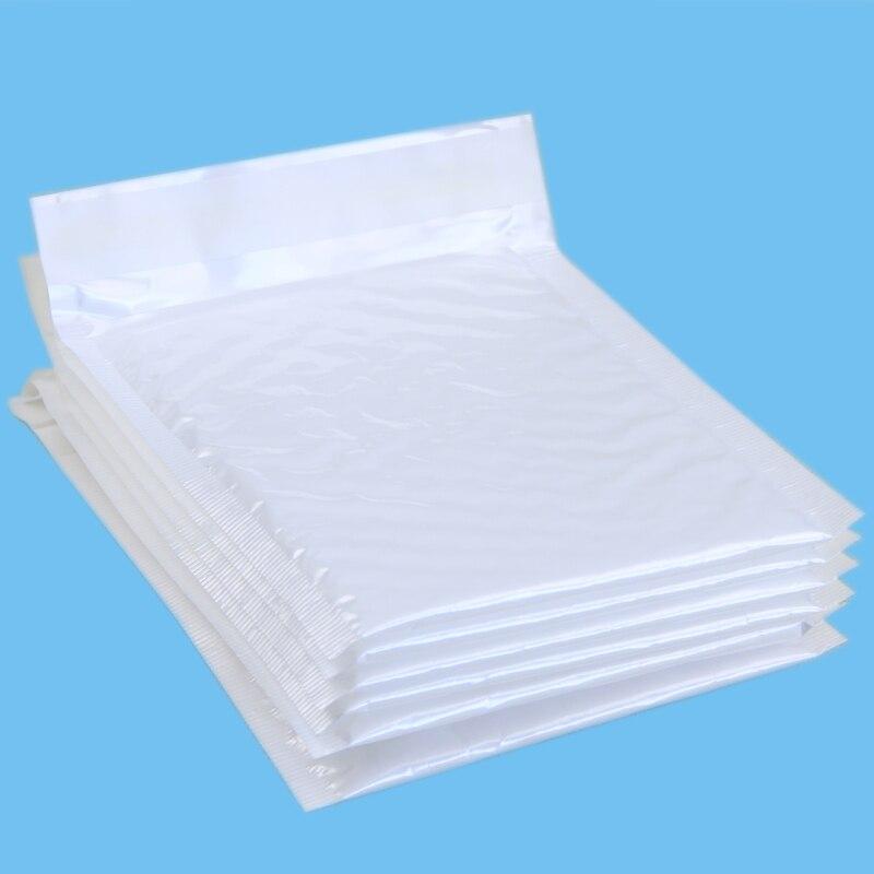 10 шт./упак., 140*160 мм жемчужно-белый полезное пространство пузырьковый конверт для почты конверты с мягким вкладышем почтовый мешок самозапеч...