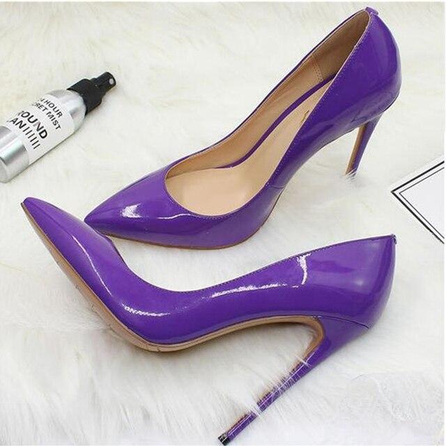 e3ecd3d6b29b New Ladies Designer Shoes Women So Nice Kate 12cm 10cm Patent Leather Black  Nude Heels Pigalle Fashion Wedding Shoes Women Pumps