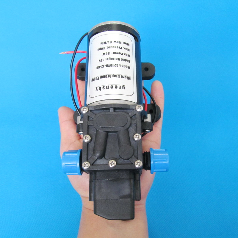 145PSI 6L Min DC 80W 12v high pressure water pump in Pumps from Home Improvement