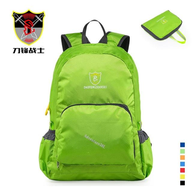 Водонепроницаемый многоразовые сумки складной зеленый женский путешествия человек сумка альпинизм рюкзаки классический вещевой мужчины женщины складные сумки