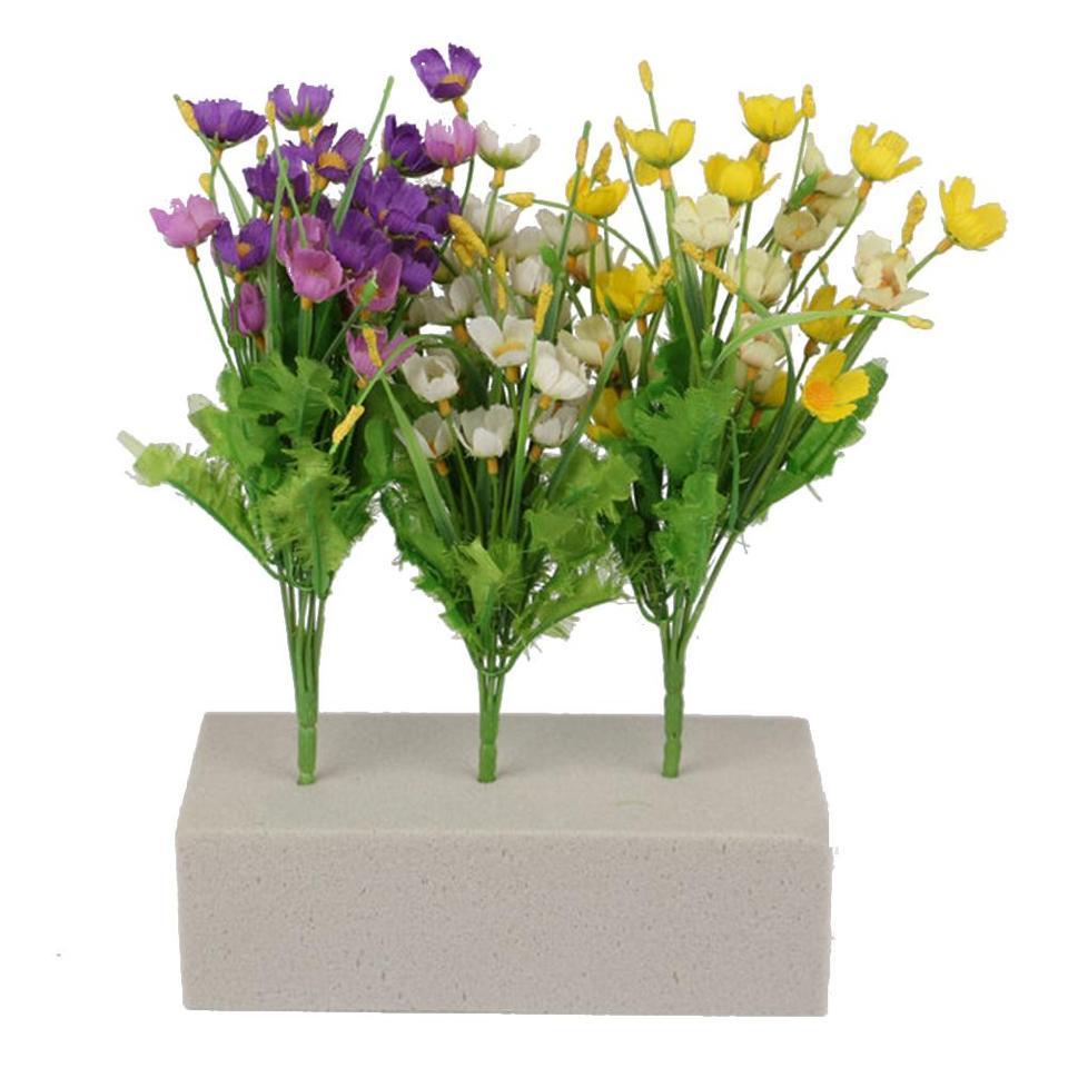 Flower Holder for Artificial Flower Wedding Florist Flower Arranging Design Floral Arrangement DIY Crafts Supplies Cherry-Lee Floral Foam Brick