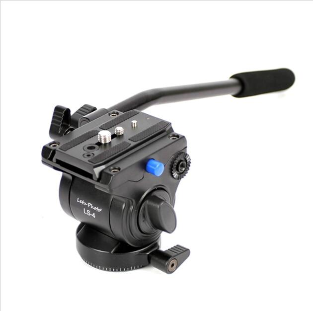 XILETU LS-4 рукоятки видео фотографии видео камера жидкости Перетащите штатива с Quick Release для Однообъективная Цифровая зеркальная фотокамера ви...
