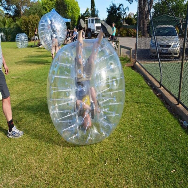 Boule pare chocs 1 M (3.28 pieds) de diamètre, boule à bulles, utilisation pour jouer au football, jeu de plein air pour enfants, jouets de plein air - 4
